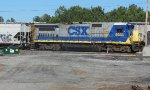 CSX 5933 - ex Susie Q 4016 resting from switching at the Doghouse